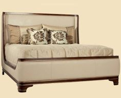 Guest Bedroom Bed Idea. Marge Carson Tango Tango Sleigh Bed