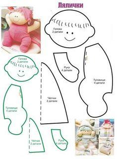 patrones muñecas de trapo - Buscar con Google