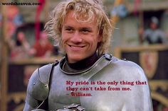 Heath Ledger in A Knight's Tale, one of the best Hollywood medieval-era movies, with a modern twist Heath Ledger, Live Action, Movies To Watch, Good Movies, Awesome Movies, Movie Drinking Games, Romantic Movie Quotes, A Knight's Tale, Period Movies