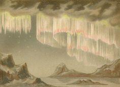 1890 polar light chromolithograph