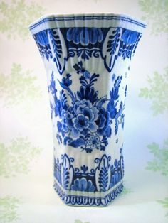 vintage royal blue delft I own one just like it.