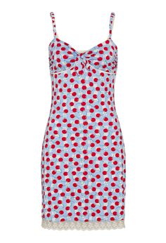 Image for Cherry Gingham Slinky from Peter Alexander