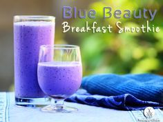 Blue Beauty Breakfast Smoothie --- This one is for the NutriBullet