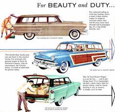 1953 Ford Station Wagon Models | Flickr - Photo Sharing!