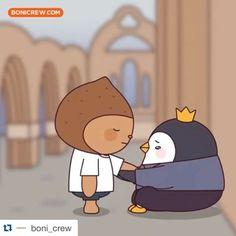 @boni_crew  Charlie Brown, Kdrama, Family Guy, Instagram Posts, Cute, Fictional Characters, Korean, Korean Language, Kawaii