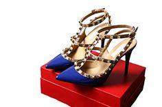 Wenseny 2013 HOT Women Lady Girls Fashionable Trend Sexy Pointed Rivet Pumps Stilettos Sandals Buckle Ankle Strap Thong Handmade Shoes High Heels (39, Blue) Wenseny http://www.amazon.com/dp/B00QP4RHHY/ref=cm_sw_r_pi_dp_B-RSub1ZBQFAK