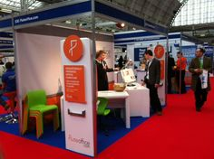 Flute Office stand at The Business Show at Olympia London on 22-23 November 2012, launching our Flute PRO™ Desk!