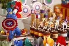Festa Infantil Os Vingadores_Capitao America_THE AVENGERS_CAPTAIN AMERICA