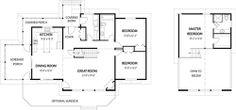 The Carling floor plan