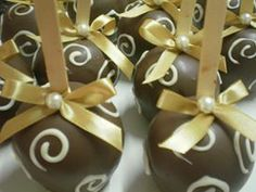 maças de chocolate