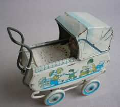 Prams, Miniature Dolls, Retro, Wooden Toys, Babys, Baby Strollers, Restoration, Miniatures, Children