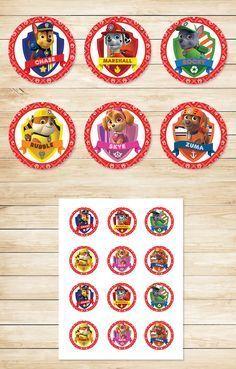 Free Paw Patrol Printables: Free Printable Paw Patrol Cupcake Toppers | Paw…