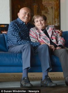 Teenage sweethearts separated during the Holocaust reunited in Melbourne 70 years later - after Thomas finds Edith living just yards from his son's home