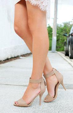 ecd9f54c53c Billini Bibi Heels Taupe from a Beginning Boutique