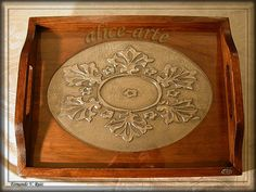 Alice, Embroidery Stitches, Metal Working, Pewter, Decoupage, Shabby, Design, Home Decor, Tin
