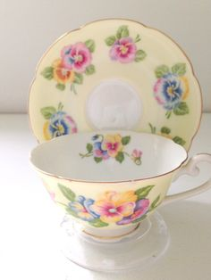 Vintage Occupied Japan Tea Cup and Saucer
