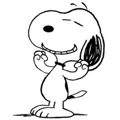 Snoopy Feeling Great