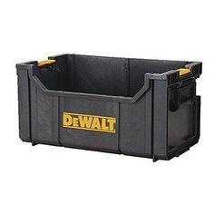 Dewalt Professional Duty Tough System Tote Working Large Equipment Box Storage