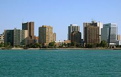 Windsor, Ontario -looking from Detroit, Wikipedia, the free encyclopedia