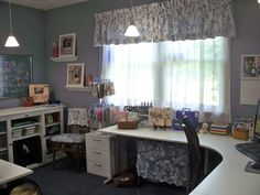 Great Do It Yourself Craft Space | Craft Storage Ideas
