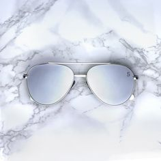 23e0766863ac Bermuda Shades - Chrome - Sequin Sand Silver Frames