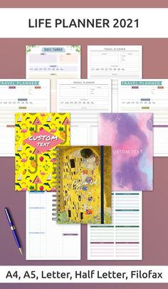 This collection of Itenerary Templates help you start planning your life more efficiently. These planners have been designed with elegance and simplicity allowing your schedule and life to be the focus. Your perfect solution for useful, productive, efficient and beautiful planner inserts! Packing List Template, Travel Itinerary Template, Weekly Planner Template, Planner Inserts, Filofax, Best Planners, Packing List For Travel, Travel Planner, Trip Planning