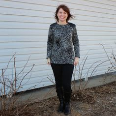 How to sew with sweater knits. Awesome blog post from our newest Fabricista Shannon