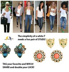 share and like on Facebook to win!    Chloe+Isabel Merchandiser- Jessica Durrell