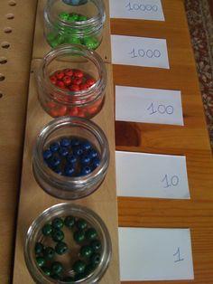 Montessori beads
