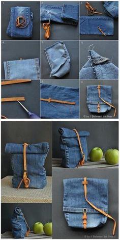 Reciclaje de Jeans!