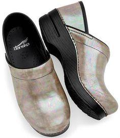Pearlescent nursing clogs | Nursing Shoes - Dansko Professional Clog | Dansko Clogs | Brands | www ...