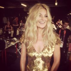 kate moss backstage olympics closing ceremony 2012 sam mcknight hair