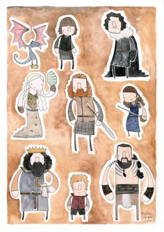Game of Thrones by Mister Hope