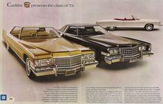 1973 Cadillac Advertisement
