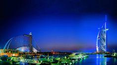 Hotel Dubai Burj Al Arab Night