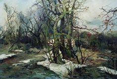 Колесников (Одесский) Степан Федорович [1879—1955] Весна в Малороссии. 1914—1916