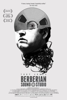 Official one-sheet for the US release of Berberian Sound Studio.