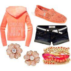 casual yet stylish Estilo Fashion, Look Fashion, Teen Fashion, Ideias Fashion, Fashion Outfits, Womens Fashion, Fashion Ideas, Coral Fashion, Fashion Inspiration