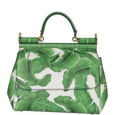 Dolce Gabbana Leaves Print Tote (21.132.335 IDR) ❤ liked on Polyvore featuring bags, handbags, tote bags, green, tote handbags, dolce gabbana handbags, dolce gabbana tote, handbags tote bags and green handbags