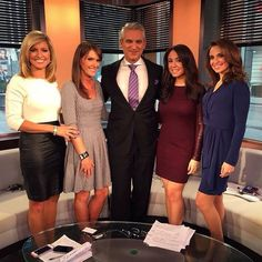 Dr David B Samadi and the Fox News Team. Have a great Friday!  #tgif #samadichallenge #news #HappyThanksgiving — with Ainsley Earhardt.