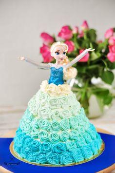 polzarciempolserio.pl  elsa cake   tort elza  kraina lodu