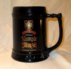 Rumple Minze Stein Distillery Collectible Barware Peppermint Schnapps 36 oz Mug
