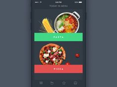 recipes and cooking mobile app by TUBIK