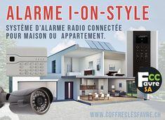 Système d'alarme radio connectée pour maison ou appartement. #IONSTYLE #SURVEILLANCE #ALARME #SECURITE #POINTFORT #FICHET #GENEVE