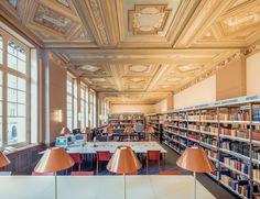 Bibliothèque interuniversitaire de la Sorbonne (Paris, France) | photograph by Franck Bohbot