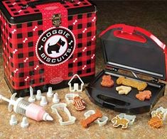 This Doggie Biscuit Maker will make your mouth-watering homemade treats for your beloved pooch! Easy to use, whips up six different shaped dog biscuit...