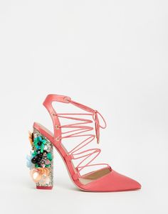 OH MY GOD SPRING AMAZINGNESS | ASOS PRINCIPAL Lace Up Pointed Heels