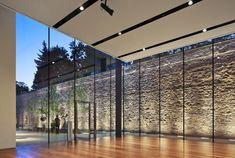 iluminacion de muros de piedra - Buscar con Google