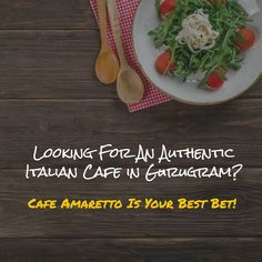 When The Muse Strikes!: Looking For An Authentic Italian Cafe in Gurugram?...