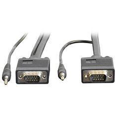 Tripp Lite P504-050-EZ 50ft SVGA / VGA Easy Pull Monitor + Audio Extension Cable with RGB Coax HD15 M/M, 3.5mm M/M 50-Feet by Tripp Lite. $58.66. From the Manufacturer                 Don't settle for less than the best—enjoy superior video and audio quality! The P504-050-EZ 50-ft.Tripp Lite Easy Pull All-in-One SVGA/VGA Monitor + Audio Cable with RGB Coax assures peak performance when connecting an XVGA/SVGA/VGA monitor and speakers to your computer. This easy-pull cable ...